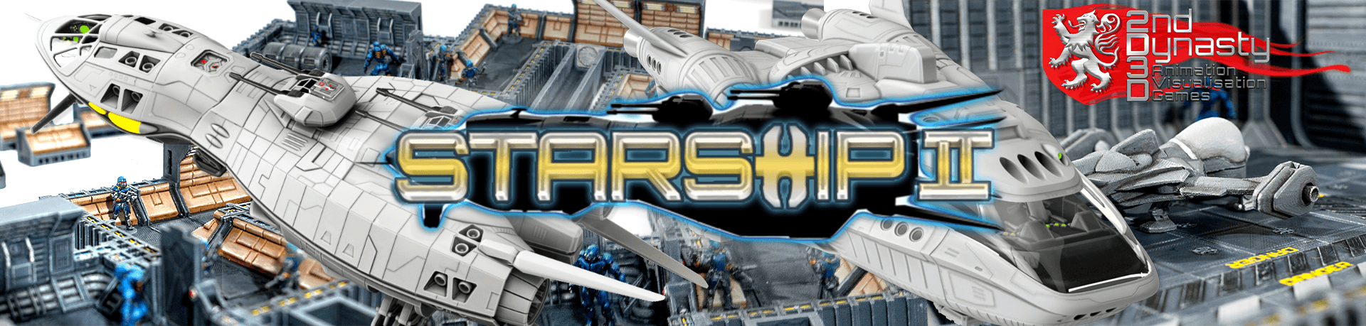 Now available - 2nd Dynasty's StarshipII Series!