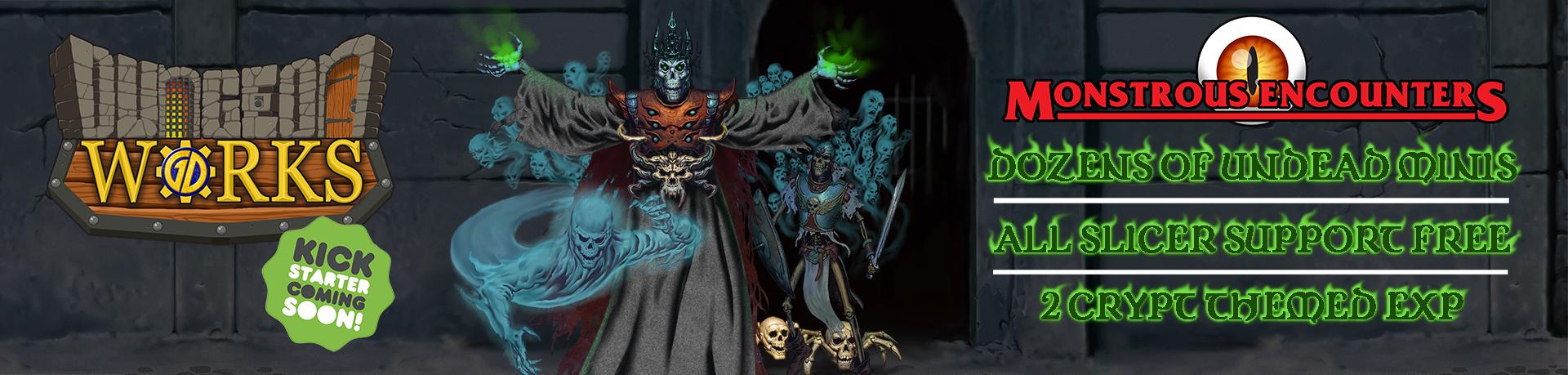 New DungeonWorks Kickstarter Coming Soon! Monstrous Encounters!